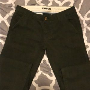 Men's slim tapered pants